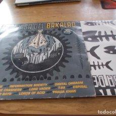 Discos de vinilo: LA CASA DEL BAKALAO. Lote 105988295