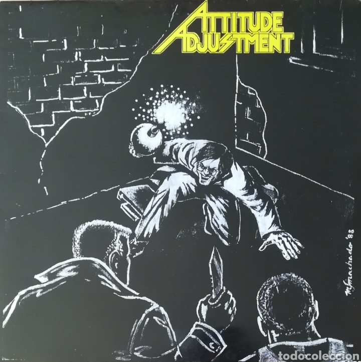 DISCO ATTITUDE ADJUSTMENT (Música - Discos - LP Vinilo - Punk - Hard Core)