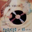 Discos de vinilo: LOS YUCAS ?– TROPICO EN 45 R.P.M. - PAN, AMOR Y CHA CHA CHA + 3 EP EDICIÓN ESPAÑOLA. Lote 105994327
