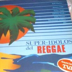 Discos de vinilo: REGGAE - SUPER IDOLOS DEL REGGAE. Lote 105995371