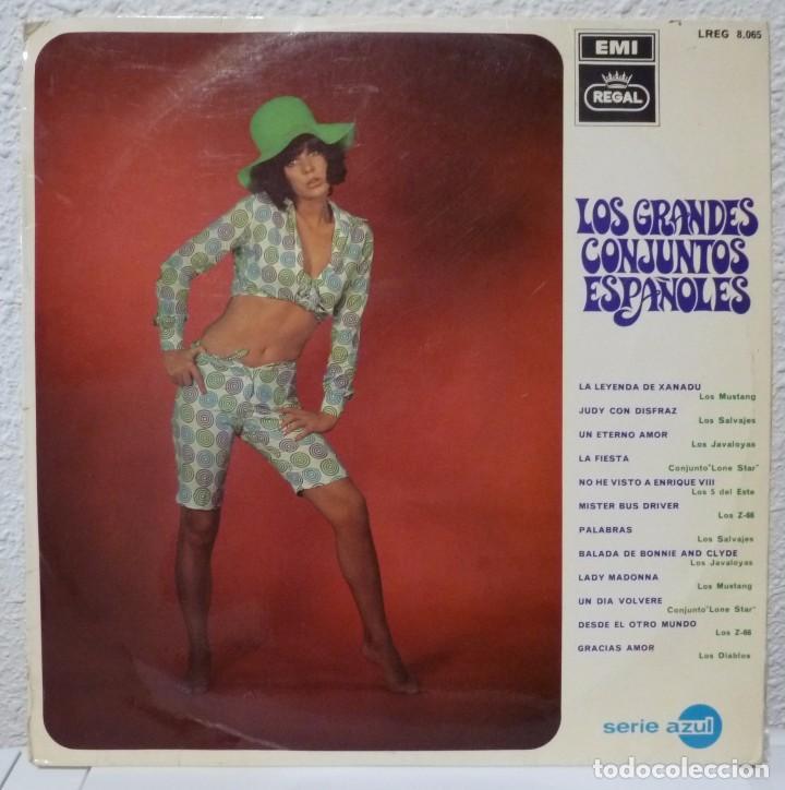 LOS GRANDES CONJUNTOS ESPAÑOLES (LP REGAL 1968) LOS SALVAJES · Z-66 · LONE STAR · MUSTANG (Música - Discos - LP Vinilo - Grupos Españoles 50 y 60)