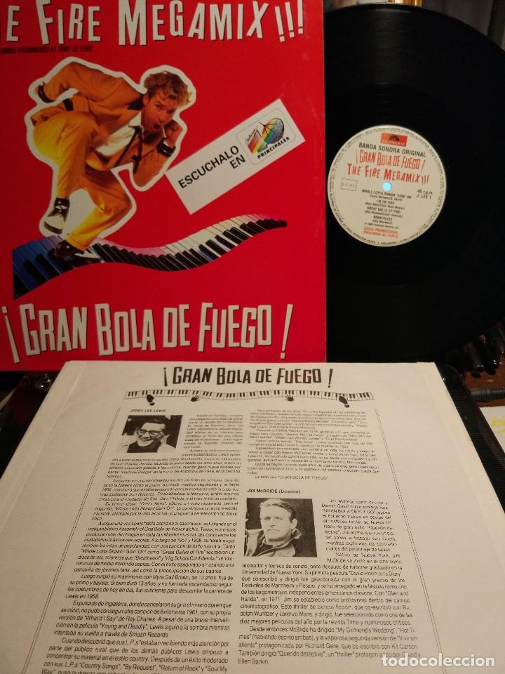 JERRY LEE LEWIS THE FIRE MEGAMIX EDC. 40 PRINCIPALES PROMO / A ESTRENAR (Música - Discos de Vinilo - Maxi Singles - Rock & Roll)