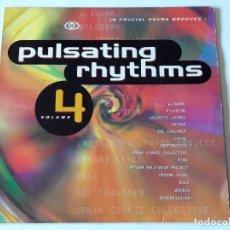 Discos de vinilo: VARIOUS - PULSATING RHYTHMS VOLUME 4 - 1993 - 2LP. Lote 106006163