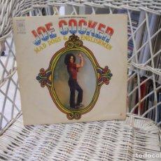 Discos de vinilo: JOE COCKER– MAD DOGS & ENGLISHMEN.DOBLE LP ORIGINAL USA 1970.CARPETA ABIERTA DESPLEGABLE. Lote 106006523
