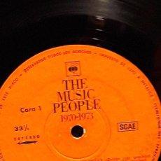 Discos de vinilo: VARIOS ARTISTAS - THE MUSIC PEOPLE 1970-1973. Lote 106018951