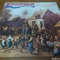 Discos de vinilo: LA BANDA - FIESTA CAMPESTRE - (ROCKMERIA). Lote 106021506
