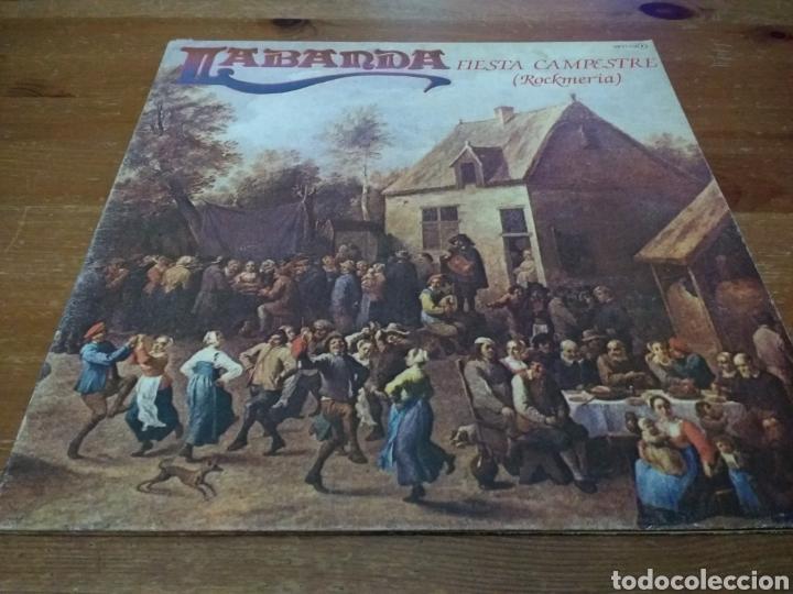 LA BANDA - FIESTA CAMPESTRE - (ROCKMERIA) CARPETA DOBLE (Música - Discos - LP Vinilo - Country y Folk)
