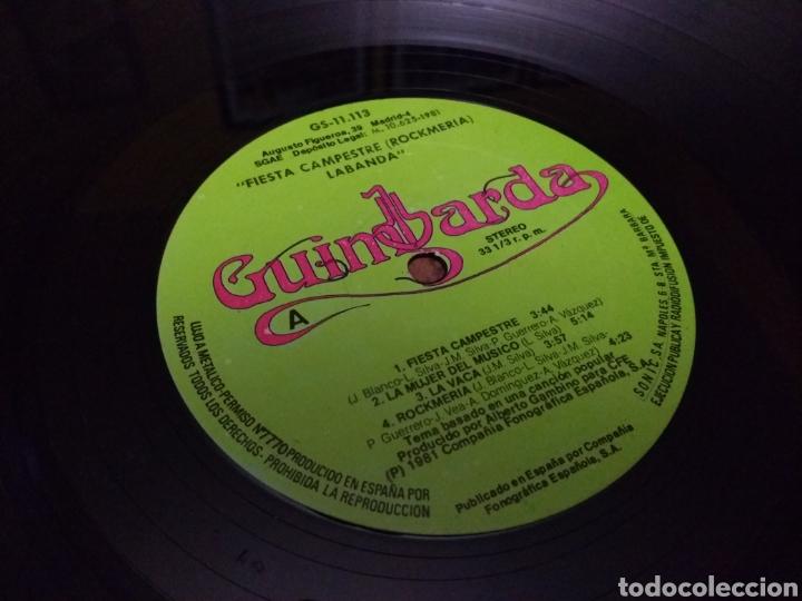 Discos de vinilo: La Banda - Fiesta campestre - (Rockmeria) carpeta doble - Foto 6 - 106021763
