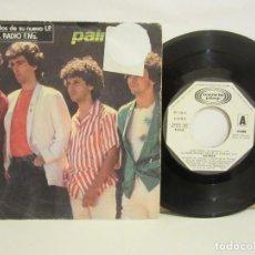 Discos de vinilo: PALMERA - QUE PENA / DE NIÑA ESTABA MEJOR +2 - EP - PROMO - 1982 - SPAIN - VG+/G. Lote 106029707