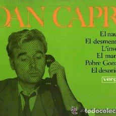 Discos de vinilo: JOAN CAPRI, EL NAUFRAG - LP VERGARA 1967 - HUMOR CATALÀ. Lote 106041411