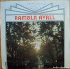 Discos de vinilo: DISCOS (RAMBLA AVALL) LA TRINCA / GUILLERMINA MOTTA. Lote 106062019
