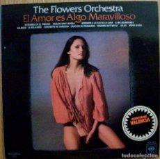 Discos de vinilo: DISCOS (THE FLOWERS ORCHESTRA) ORQUESTA. Lote 106062795