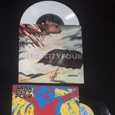 Discos de vinilo: LOTE SINGLE EP VINILO MEGA CITY FOUR IRON SKY SKIDDING SUPERSTAR. Lote 106072371