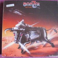 Discos de vinilo: LP - BANZAI - DURO Y POTENTE (SPAIN, WEA RECORDS 1984). Lote 106558619