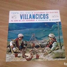 Discos de vinilo: CORO DE NIÑAS Y ORQUESTA - DE VILLANCICOS. Lote 106078923