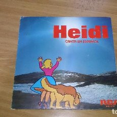 Discos de vinilo: SINGLE DE VINILO DE HEIDI- CANTA EN ESPAÑOL OYE/ DIME ABUELITO . Lote 106079627