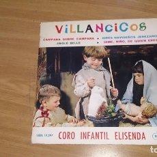 Discos de vinilo: VILLANCICOS CORO INFANTIL ELISENDA. Lote 106080595