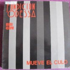 Discos de vinilo: MAXI - FUNDICION ODESSA - MUEVE EL CULO (SPAIN, POLYDOR 1988). Lote 106080823