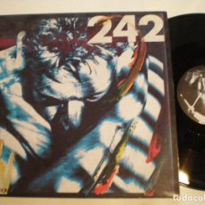 Discos de vinilo: FRONT 242 - INTERCEPTION - MAXI SINGLE BELGA 1986 // EBM SYNTH ELECTRONIC INDUSTRIAL. Lote 106082235