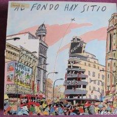 Discos de vinilo: MAXI - AL FONDO HAY SITIO - A COLARSE Y AL LORO + 3 (SPAIN, SOLERA DISCOS 1986). Lote 106085063