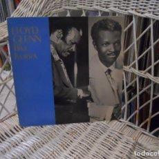 Discos de vinilo: LLOYD GLENN– BLUE IVORIES.LP EDICION SUECA 1982.GRABACIONES AÑOS 50.RHYTHM & BLUES. Lote 106092511