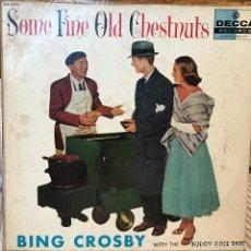 Discos de vinilo: LP URUGUAYO DE BING CROSBY AÑO 1954. Lote 106103591