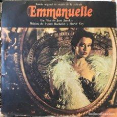 Discos de vinilo: LP BSO PELÍCULA EMMANUELLE AÑO 1974 EDICIÓN ARGENTINA. Lote 106104759