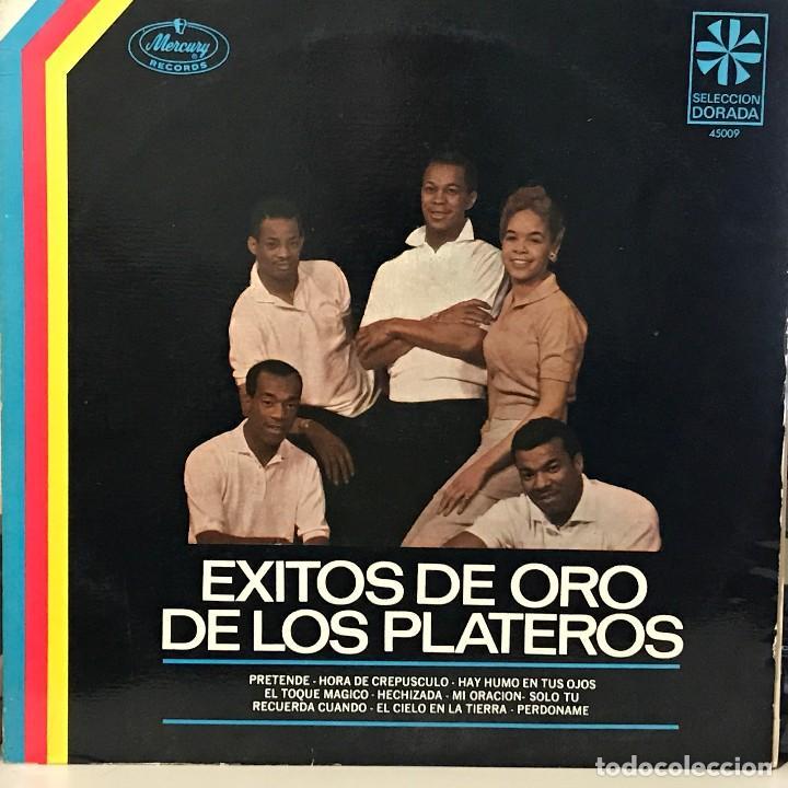 LP RECOPILATORIO DE THE PLATTERS AÑO 1968 EDICIÓN ARGENTINA (Música - Discos - LP Vinilo - Funk, Soul y Black Music)