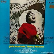 Discos de vinilo: LP BSO DARLING LILI AÑO 1969 EDICIÓN ARGENTINA. Lote 106105435