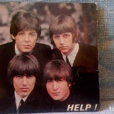 Discos de vinilo: LES BEATLES / HELP / MR. MOONLIGHT / I'M DOWN / I'LL FOLLOW THE SUN - EDICIÓN FRANCESA. Lote 106159975