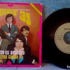 Discos de vinilo: TUSET 31 - ESTO ES AMISTAD / NUESTRO LUGAR - SINGLE NOVOLA NOX-102 DEL AÑO 1969 - EX. Lote 106175523