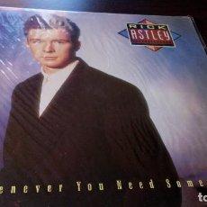 Discos de vinilo: RICK ASTLEY - WHENEVER YOU NEED SOMEBODY. Lote 106193643