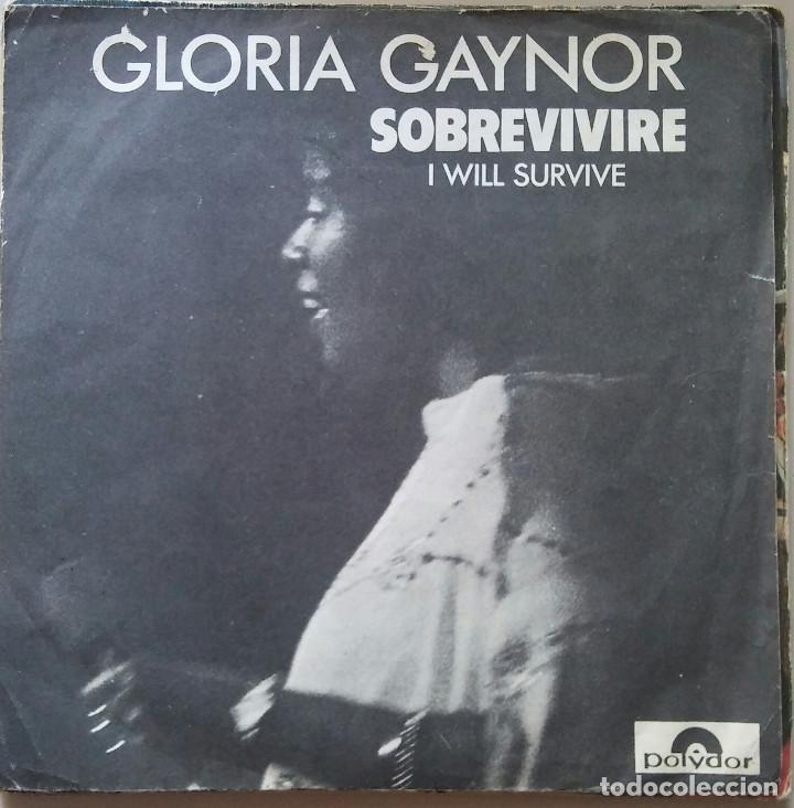 GLORIA GAYNOR SOBREVIVIRE (Música - Discos - Singles Vinilo - Jazz, Jazz-Rock, Blues y R&B)