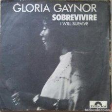 Discos de vinilo: GLORIA GAYNOR SOBREVIVIRE. Lote 106223327