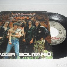 Discos de vinilo: PANZER - PANZER + SOLITARIO / CHAPA DISCOS - AÑO 1982 / * DISCO PROMOCIONAL. Lote 106223535