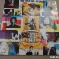 Discos de vinilo: SIOUXSIE AND THE BANSHEES - TWICE UPON A TIME / THE SINGLES. Lote 106251423