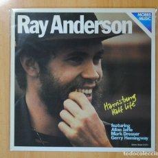 Discos de vinilo: RAY ANDERSON - HARRISBURG HALF LIFE - LP. Lote 106295194