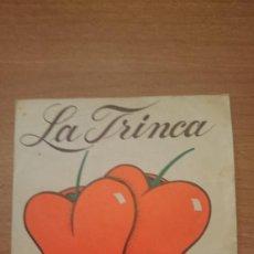 Discos de vinilo: DISCO LA TRINCA. Lote 106295867