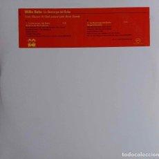 Discos de vinilo: WILLIE BOBO, LA DESCARGA DEL BOBO. MAXI SINGLE 2 TEMAS VERVE USA, COMO NUEVO. Lote 106325323
