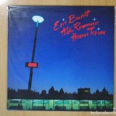 Discos de vinilo: ERIC BARRET / ALDO ROMANO / HENRI TEXIER - ERIC BARRET / ALDO ROMANO / HENRI TEXIER - LP. Lote 106333384