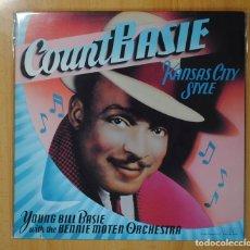 Discos de vinilo: COUNT BASIE - KANSAS CITY STYLE - LP. Lote 106334012