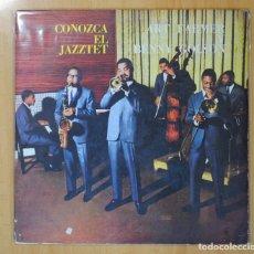 Discos de vinilo: ART FARMER / BENNY GOLSON - CONOZCA EL JAZZTET - LP. Lote 106336810
