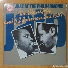 Discos de vinilo: STAN GETZ / J. J. JOHNSON - THE STAN GETZ AND J. J. JOHNSON SET 1957 - LP. Lote 106337572