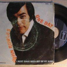 Discos de vinilo: JOHN ROWLES ONE DAY SINGLE STATESIDE 1969. Lote 106362203