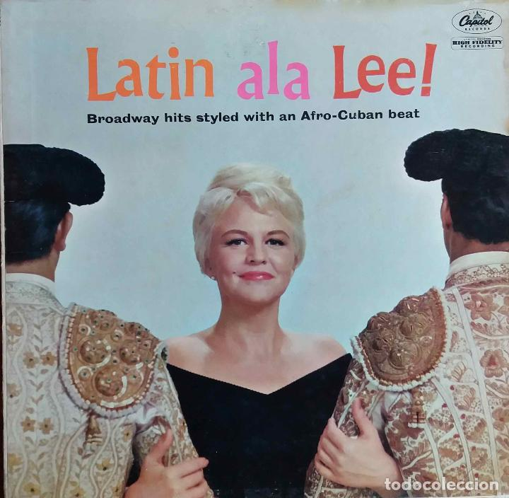 PEGGY LEE.LATIN ALA LEE !. LP ORIGINAL USA (Música - Discos - LP Vinilo - Pop - Rock Extranjero de los 50 y 60)