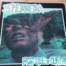 Discos de vinilo: LA PERRERA RIGHT SIDE OF OUR MINDS LP BASATI DISKAK 1991. Lote 106413883