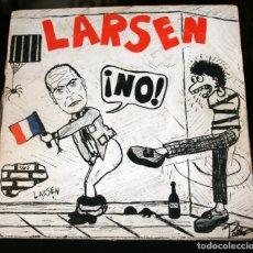 Discos de vinilo: LP LARSEN: NO!. Lote 106417111