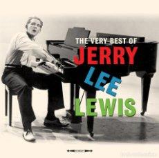 Discos de vinilo: THE VERY BEST OF JERRY LEE LEWIS * 2 LP 180G + CD * GATEFOLD *RARE * PRECINTADO. Lote 106493931