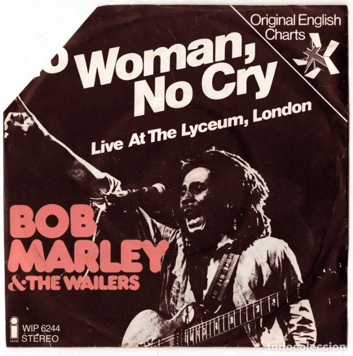 Bob Marley The Wailers No Woman No Cry Liv Buy Vinyl Singles