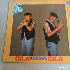 Discos de vinilo: GILA VERSUS GILA LP 1980 SPAIN PROMO. Lote 106548871
